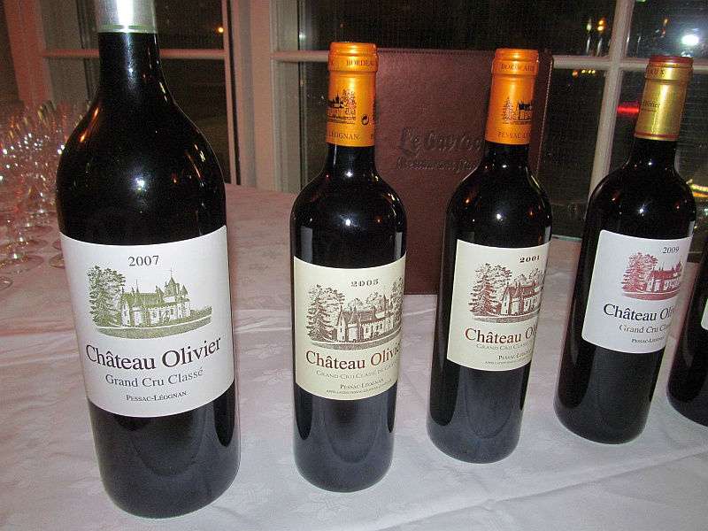 A fantastic dinner at le gavroche with chateau oliver for Chateau olivier